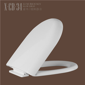Cheap shape toilet fixing toilet seat CB34