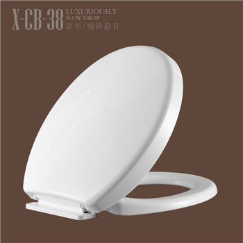 Hot Selling Plastic WC Toilet Seat Cover CB38