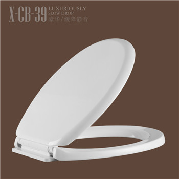 Quick Release Slim Plastic Toilet Seat Covers CB39