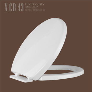 Thin design toilet seat cover toilet lid covers CB43