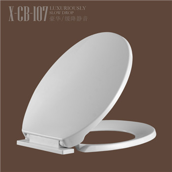 Bathroom soft closed WC cover open front toilet seats CB107
