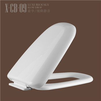High density PP seat cover bathroom toilet seat shapes CB09
