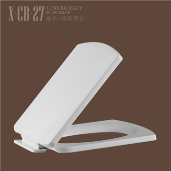 Hot sale soft close beautiful appearance plastic toilet seat CB27