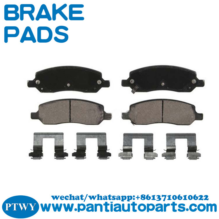 Auto Parts Manufacturer For BUICK Factory Price Brake Pad 15773987