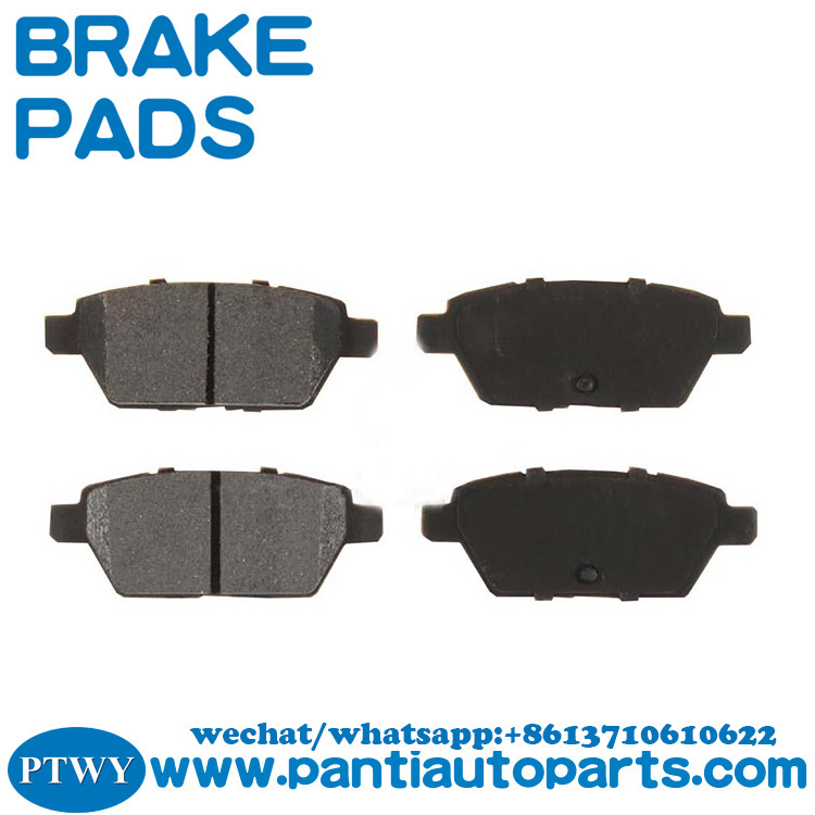 Brake Pad D1161 6E5Z-2200-B for Mazda 6 from cheap auto parts online