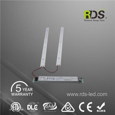 Led Strip Retrofit T5 8ft 2x4 And Convert Fluorescent Fixture To Led