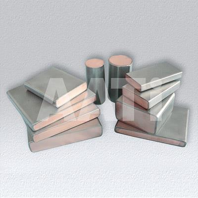 Ti ClTi Clad Copper Bars With Material Gr1 Or Gr2 And Copper T2 Or TU2ad Copper Bars With Material Gr1 Or Gr2 And Copper T2 Or TU2