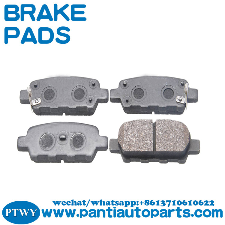 Car Disc Brake Pad Manufacturers for Hyundai Infiniti Nissan Renault  44060-8H385