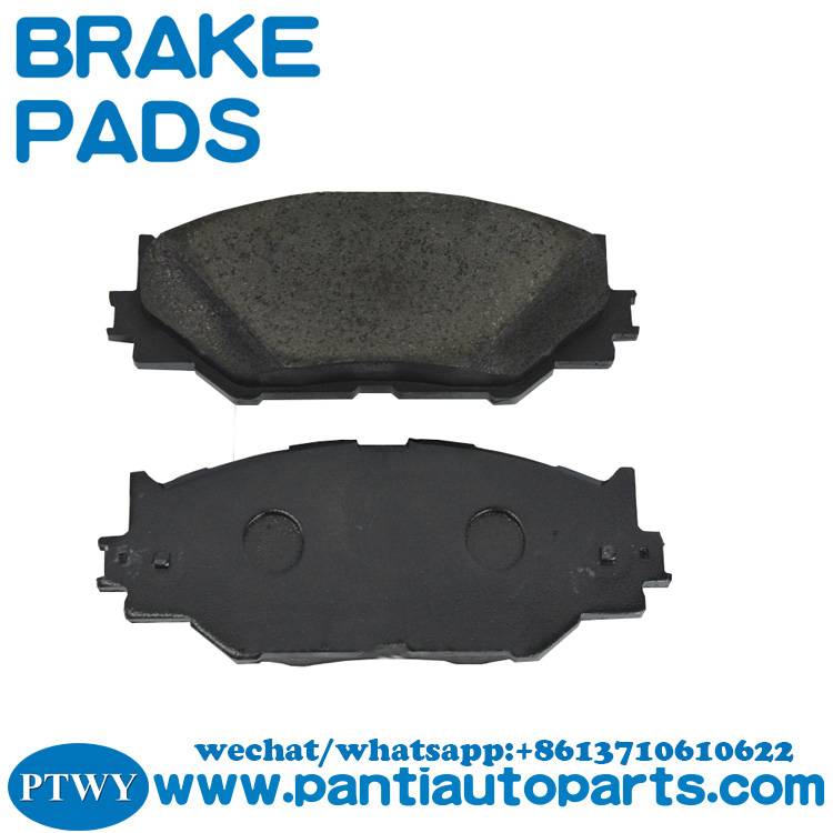 Factory direct supply brake pads 04465-53020 for Toyota Automotive Brake Systems China parts