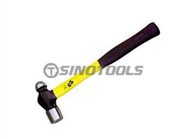 British Type Ball Pein Hammer with Wooden Handle