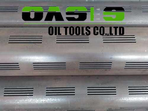 Hot Sell Laser Slotted Casing Pipes