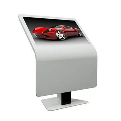Stylish design floor stand multi touch screen kiosk