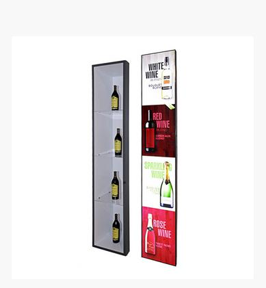 Popular High Quality 16.7M Totem Stretched Strip Narrow Frame Lcd Digital Pos Display