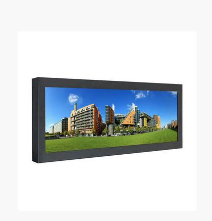 43 inch Ultra Thin Stretched Bar Lcd Monitor For Metro Event Advertising Display Board