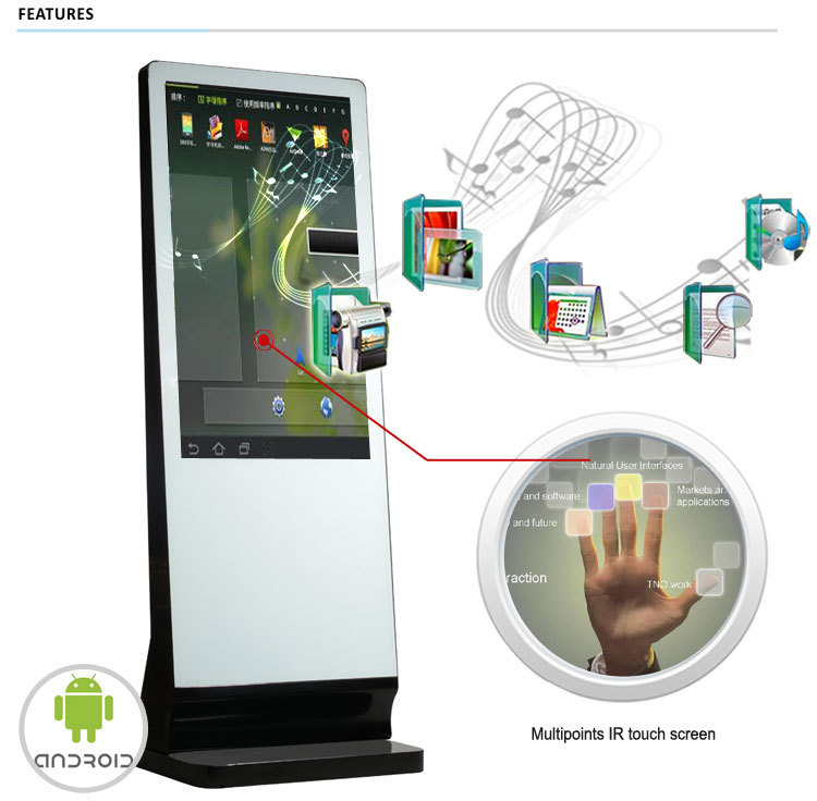 47 inch Stylish Multi Touch Screen Kiosk Touch Table