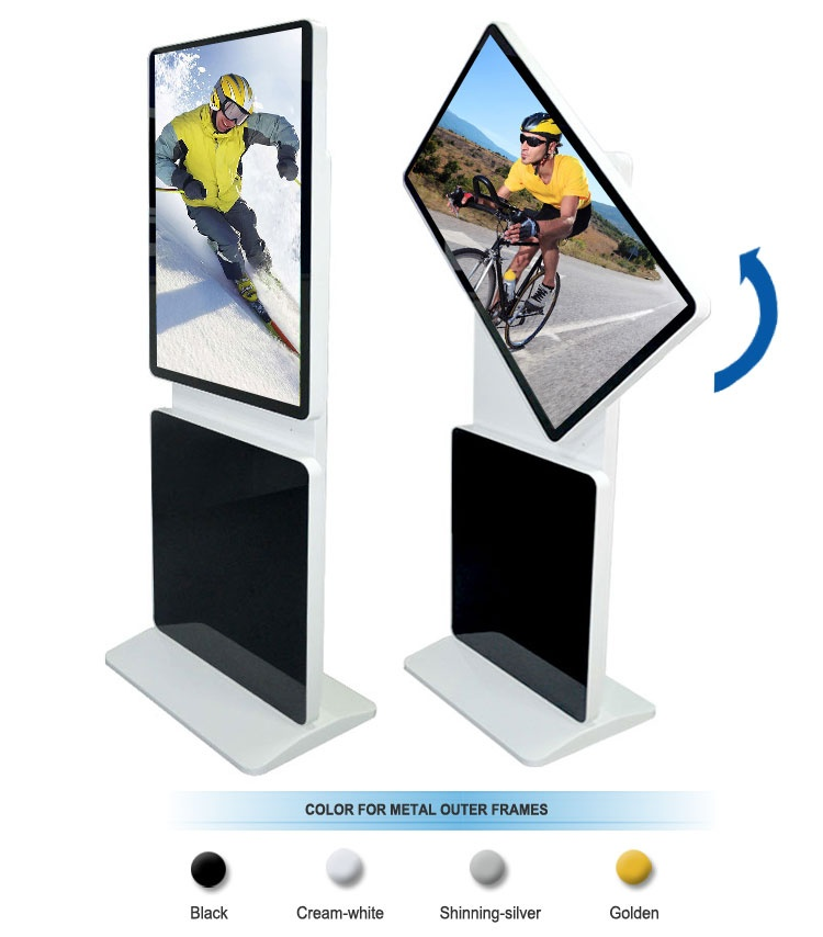 42 inch Floor Standing Rotatable LCD Advertising Screen