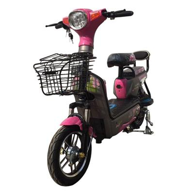 Hot Selling Portable Pink 36V Ladys Electric Scooter/E-Bike