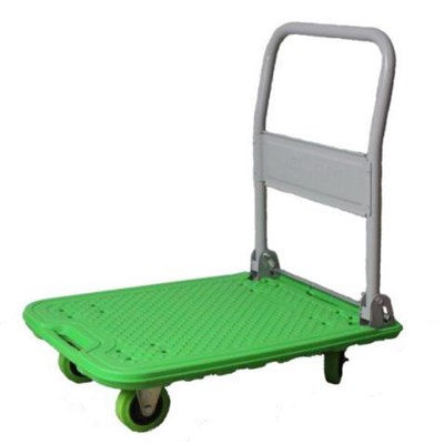Platform Cart Made Of Different Material Like Plastic And Aluminum
