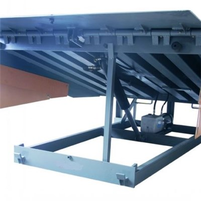 Electric Hydraulic Dock Leveler For Container And Van Truck Loading And Unloading