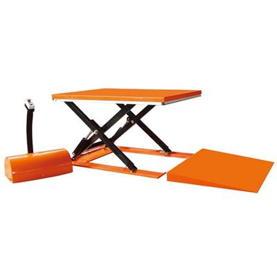 Customerized Electirc Power Hydarulic Scissor Table Lift With Rotary Platfrom And Dust Cover