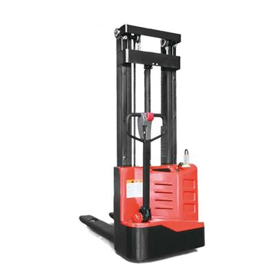 1000kg To 1500kg Capacity EP Electric Stacker With Lifting Height From 1.6M To 5.5M