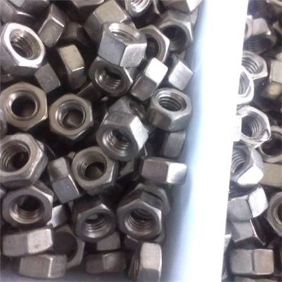 High Strength Titanium Hex Nuts GR1,GR2,GR5 and Costom Titanium Nuts as the Drawings