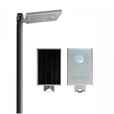 8W Factory Directly Low Price All In One With Pole Solar Street Led Light