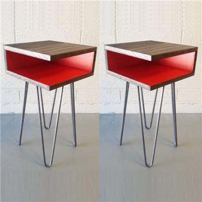Collection Of Three Side Tables And Plays On Three Heights Coffee Table