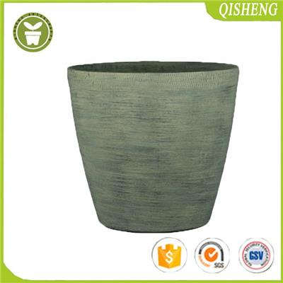 Aged Lite Flower Pot For Garden And Home Use,stone Material Mixture