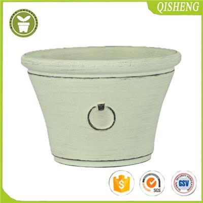 Aged Lite Planter For Garden And Home Use,stone Material Mixture