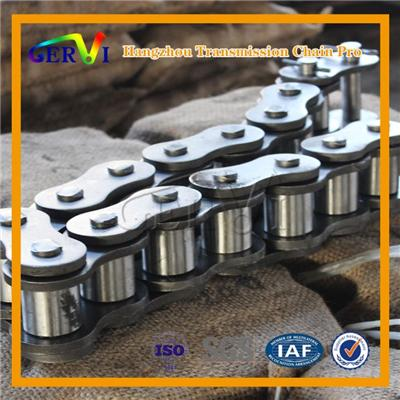 ANSI Short Pitch Straight Transmission Drive Roller Chains For Transport SystemC80 C100 C120 C140