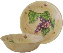Alibaba China Supplier Wholesale Wooden Fruit Bowl