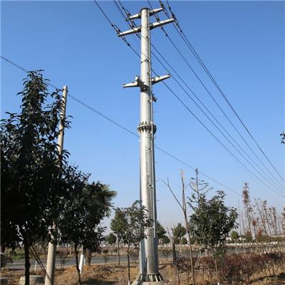 Galvanized Steel Polygonal Power Pole