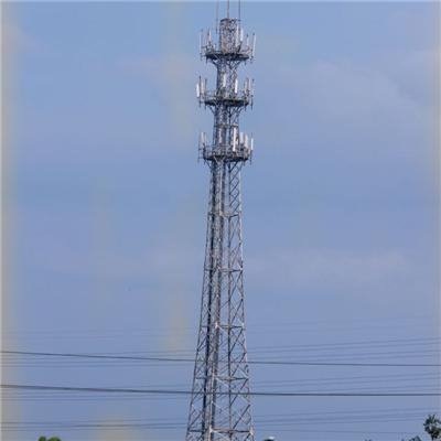 Microwave Angle Steel Communication Tower