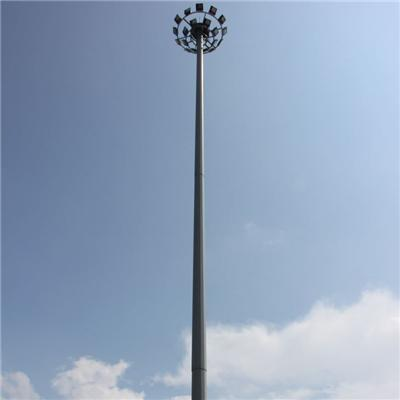 20m Galvanized Led Lighting Pole