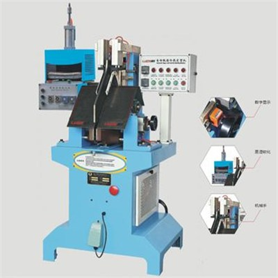 Cold And Hot Toe Moulding Upper Forming Machine