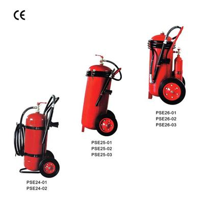 CE Standard Dry Powder Fire Extinguisher Wheeled Dry Powder Fire Fighting Equipment