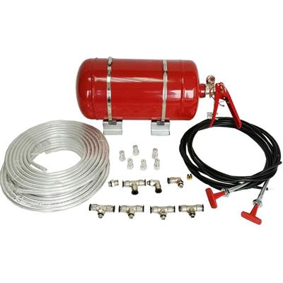 4.25L Mechanically Rally Car Fire Extinguisher Systems