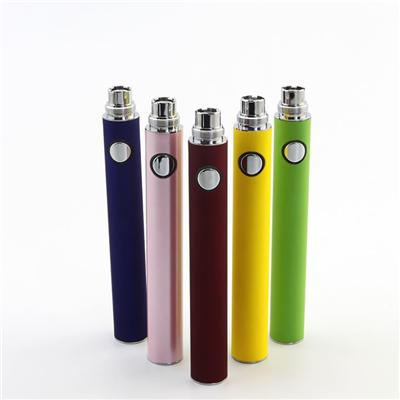 Evod MT3 Battery 650mah 900mah 1100mah Colorful Evod Battery With High Quality Battery Cell Rechargeable Ecigarette