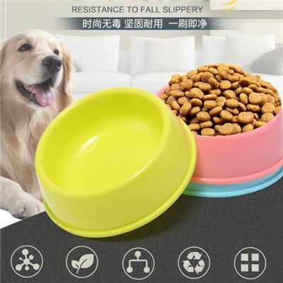 Cats Pet Portable Plastic Travel Feeding Bowl Durable Dog Water Dish Feeder Pet Bowl