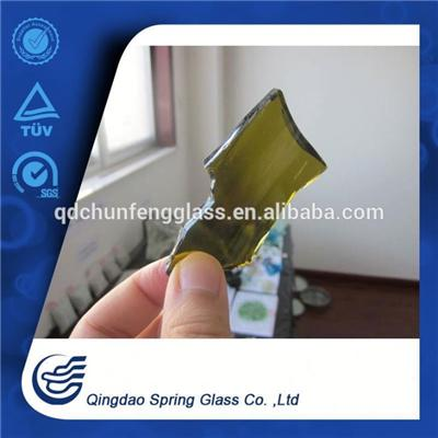 Treated Glass Cullets For Beer Bottle Produced