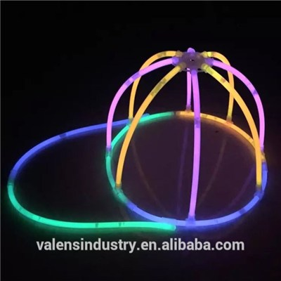 Glow Stick Innovative Combination DIY LED Flashing Light Up Glow In The Dark Hat Idea Party Favor For Party|Event|Vocal Concert