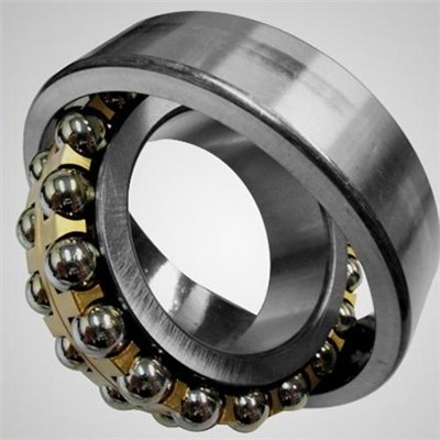 Long Speed Life Time Stainless Steel Self Aligning Ball Bearing With High Precision For Textile Machinery