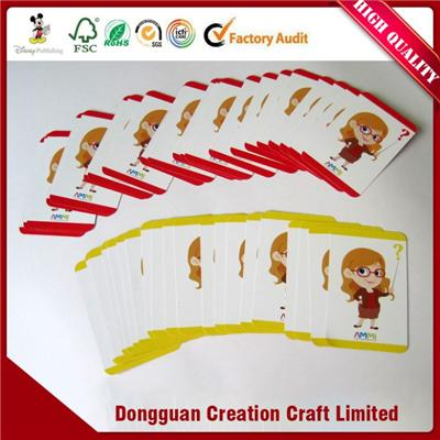 Custom Educational Card Game Printing