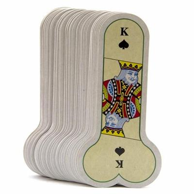 Personalized Customized Shaped Playing Card Game Printing