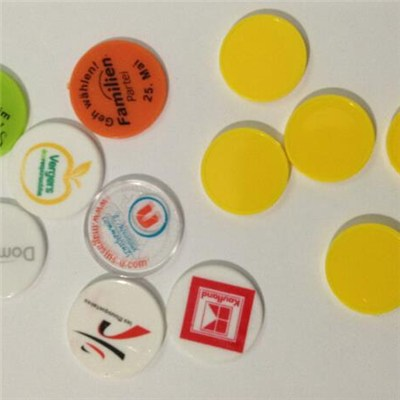 Customized Plastic Game Discs Playing Coins Plastic Chips