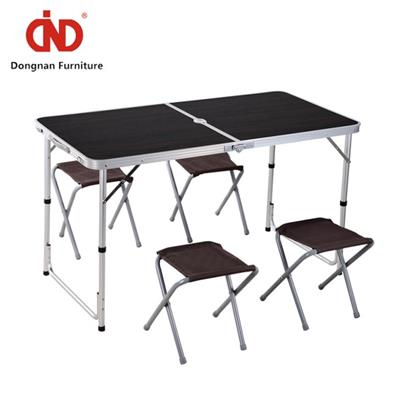 DN Outside Cheap Garden Table And Chairs,Camping Table With 4 Seats