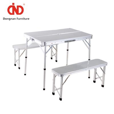 DN Outdoor Folding Picnic Table With Benches,BBQ Picnic Table And Chairs Set