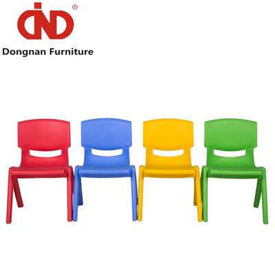 DN Plastic Lawn Table Chairs For Kids, PP Stackable Furniture Desk Chairs
