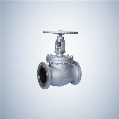 Hand Operate Cast Steel Globe Valve With Flanged Connection